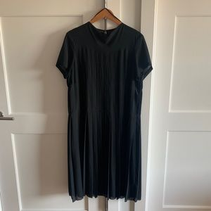 COS Pleated Chiffon Dress